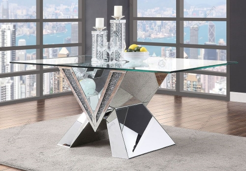 Crushed Diamond Dining Table