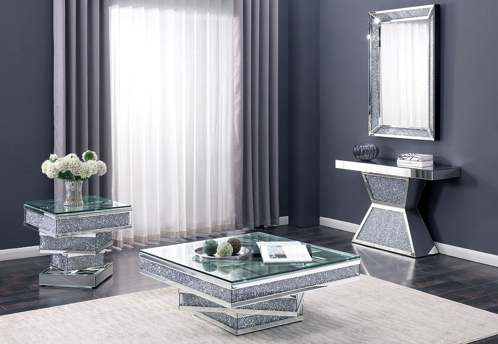 Luxury Crushed Diamond Furniture